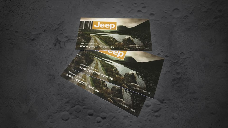 Jeep BS Cards