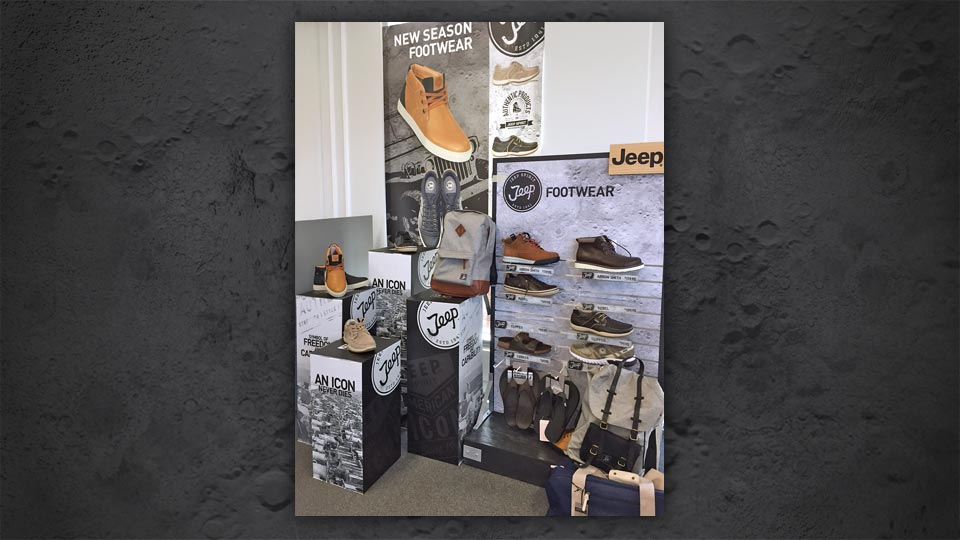 Jeep Footwear Display