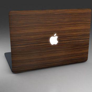 3D - Macbook-Wood